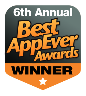 6th Annual Best AppEver Awards Winner
